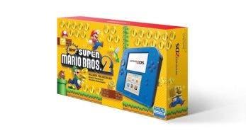 Nintendo of America venderá este verano este pack de 2DS azul eléctrico con New Super Mario Bros. 2