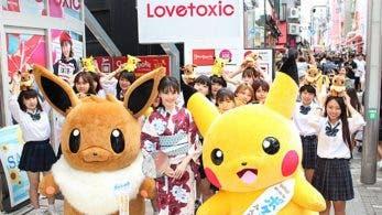 Pikachu, Eevee y 16 modelos invaden Harajuku para conmemorar la nueva película de Pokémon