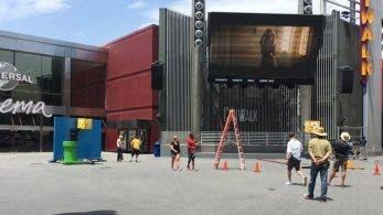 Parece ser que Nintendo está grabando algo en Universal CityWalk, Hollywood