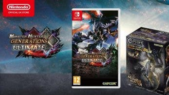 La Nintendo UK Store ofrece un pack de figuras con la reserva de Monster Hunter Generations Ultimate