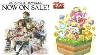 Los responsables de Octopath Traveler y Captain Toad: Treasure Tracker celebran sus estrenos con estos artes
