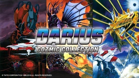 [Act.] Un vistazo al boxart y a la edición limitada de Darius Cozmic Collection