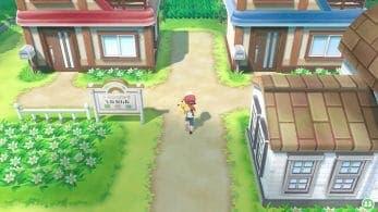 Una diferencia entre la versión japonesa y occidental de Pokémon: Let's Go, Pikachu! / Eevee! que puede que no hayas visto