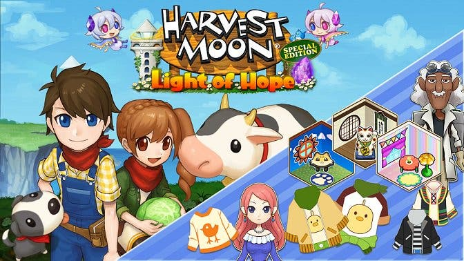 Harvest Moon: Light of Hope Special Edition recibe los episodios especiales de Doc y Melanie como DLC