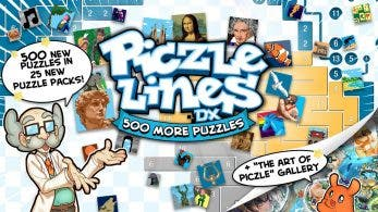 Anunciados Piczle Lines DX 500 More Puzzles! y Piczle Colours para Switch