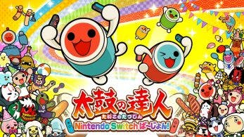 La demo de Taiko no Tatsujin para Nintendo Switch ya está disponible en la eShop japonesa de Switch