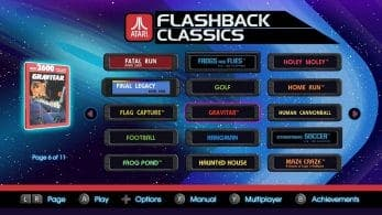 Atari Flashback Collection para Nintendo Switch incluirá 150 juegos