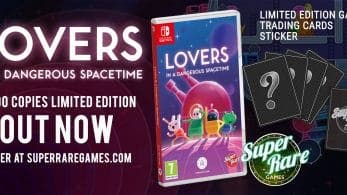 Lovers in a Dangerous Spacetime confirma su lanzamiento en formato físico