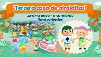 La tercera caza de giroiditas ya está disponible en Animal Crossing: Pocket Camp
