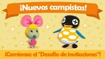 Adela y Cube son los nuevos campistas en Animal Crossing: Pocket Camp