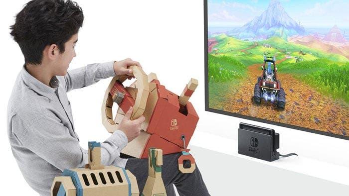 Nuevos detalles sobre el Kit de vehículos de Nintendo Labo