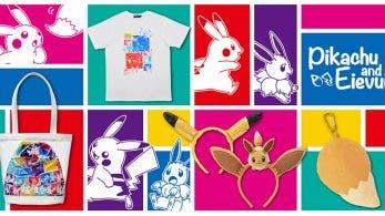 The Pokémon Company muestra su nueva colección de merchandising inspirada en Pikachu y Eevee