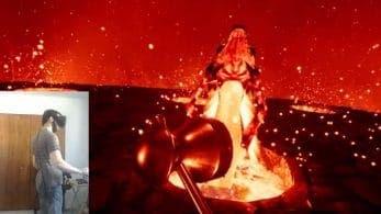 Un fan recrea en Realidad Virtual la batalla contra Volvagia de The Legend of Zelda: Ocarina of Time