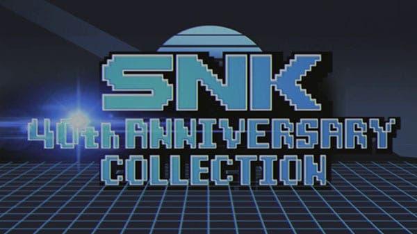 [Act.] SNK 40th Anniversary Collection llega en noviembre a Nintendo Switch: detalles y tráiler