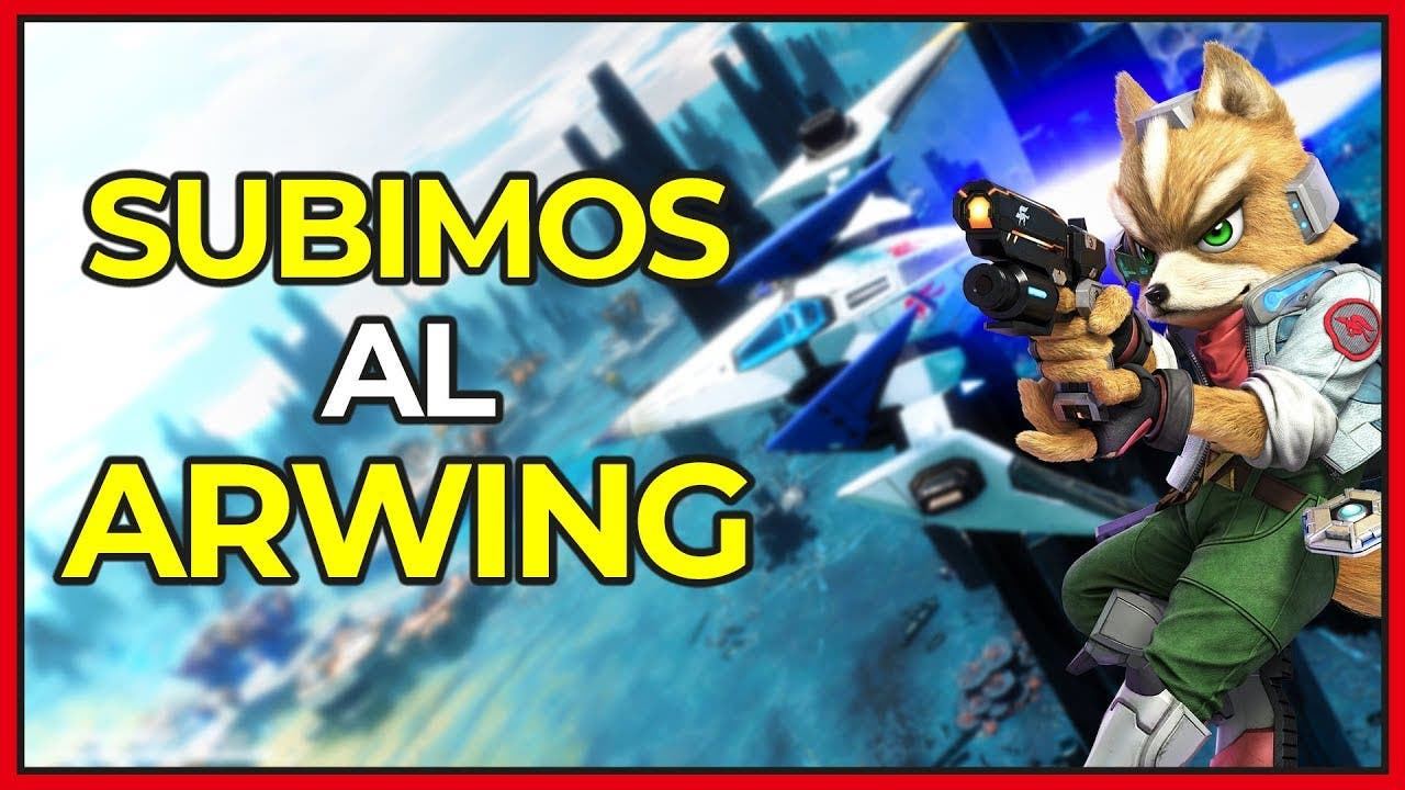 [Vídeo] Un vistazo al Arwing de Star Fox en Starlink: Battle for Atlas para Nintendo Switch