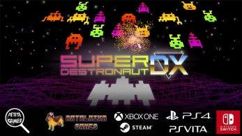 Super Destronaut también llegará a Switch como Super Destronaut DX