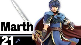 Marth también se presenta en Super Smash Bros. Ultimate