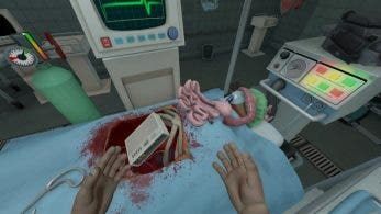 Surgeon Simulator CPR llegará a Nintendo Switch con control por movimiento y vibración HD