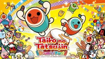 Taiko no Tatsujin: Drum 'n' Fun! solo estará disponible en formato digital en Europa y América