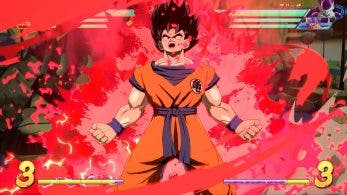 Primeras capturas de pantalla de las versiones base de Goku y Vegeta en Dragon Ball FighterZ