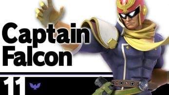 El blog oficial de Super Smash Bros. Ultimate nos presenta a Captain Falcon
