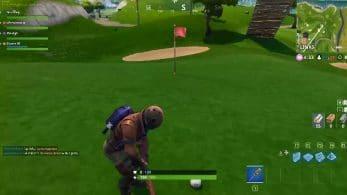 Juega al golf en Fortnite con el pase de batalla