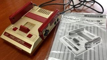 Unboxing de la Famicom Mini dorada
