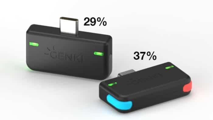 Genki es el accesorio de audio para Switch que se puede combinar con sus colores
