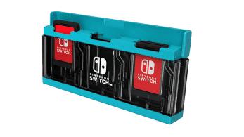 HORI anuncia un nuevo estuche para almacenar cartuchos de Nintendo Switch