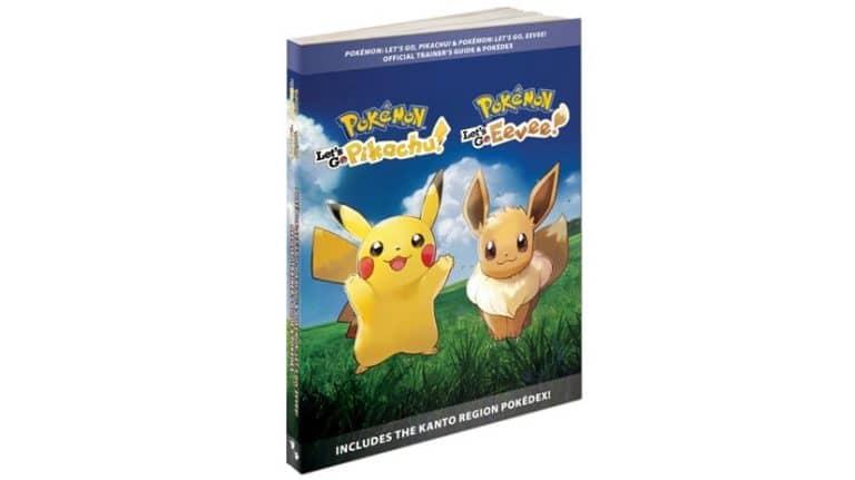 The Pokémon Company anuncia el lanzamiento de la guía oficial de Let's Go, Pikachu! / Eevee!