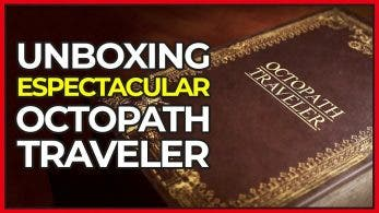 [Vídeo] Unboxing espectacular de la Octopath Traveler Compendium Edition