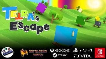 [Act.] Tetra's Escape llegará a Nintendo Switch el próximo mes