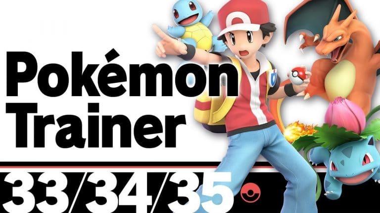 El Entrenador Pokémon protagoniza la última entrada del blog oficial de Super Smash Bros. Ultimate