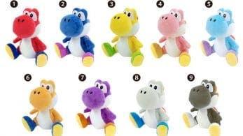 Nueve peluches nuevos de Yoshi serán lanzados en Japón en agosto