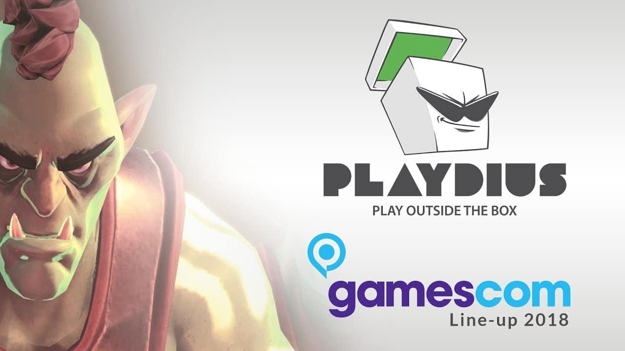 Playdius anuncia los videojuegos que presentará en la Gamescom 2018