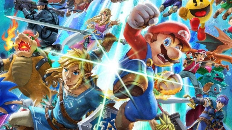 Super Smash Bros. Ultimate se actualiza a la versión 1.1.0