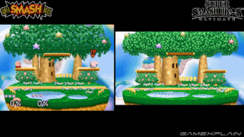 Comparativa en vídeo de los escenarios de Super Smash Bros. para N64 con sus versiones de Super Smash Bros. Ultimate