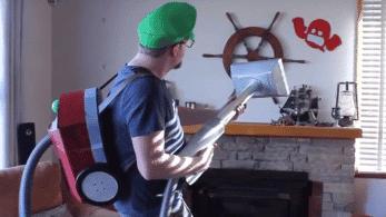 Un fan crea la Succionaentes 5000 con Nintendo Labo