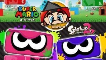 Keys Factory lanzará estas fundas de Mario y Splatoon 2 para Nintendo Switch
