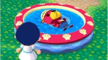 La piscina infantil de Pascal llega a Animal Crossing: Pocket Camp