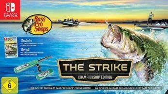Bass Pro Shops The Strike llegará a Nintendo Switch con caña de pescar incluida