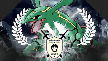 ¡Rayquaza gana Nintendo Wars: Pokémon de tipo Dragón!