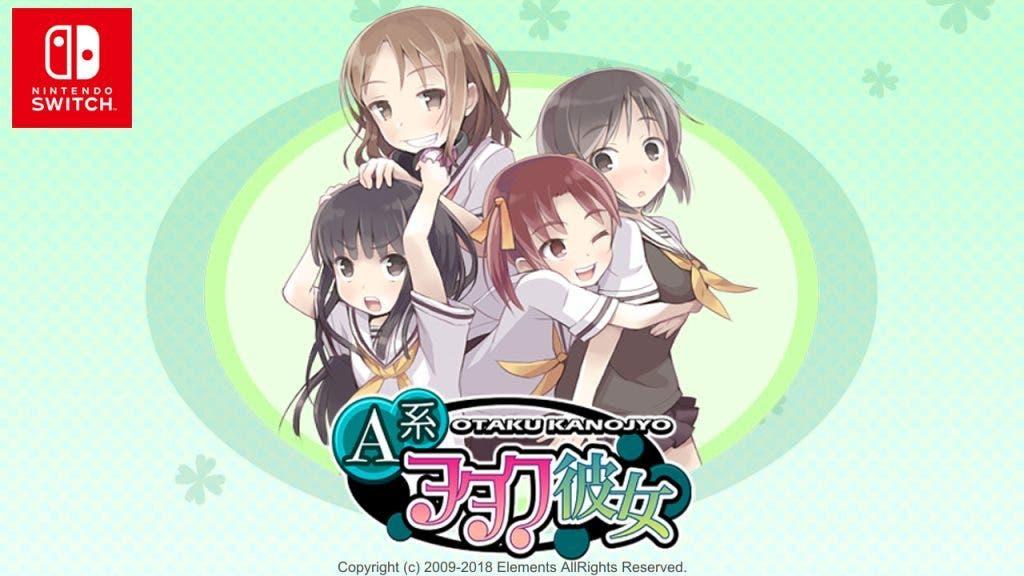 La novela visual A Kei Otaku Kanojyo confirma su lanzamiento en Nintendo Switch