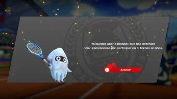 Comienza la distribución de Blooper como personaje jugable en Mario Tennis Aces