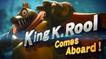 Super Smash Bros. Ultimate tendrá a King K. Rool como personaje jugable