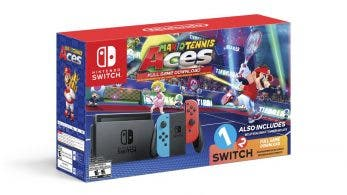 Nintendo of America anuncia un nuevo pack de Nintendo Switch con Mario Tennis Aces y 1-2-Switch