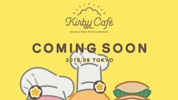 El Kirby Café regresa a Tokio en septiembre