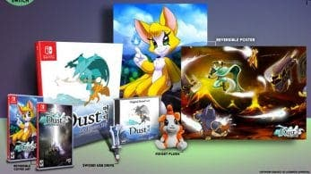 Limited Run lanzará una edición coleccionista de Dust: An Elysian Tail para Nintendo Switch