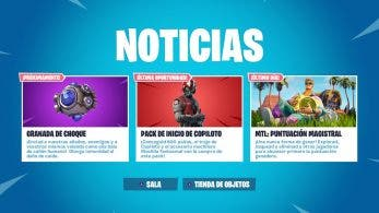 La Granada de Choque llegará próximamente a Fortnite Battle Royale