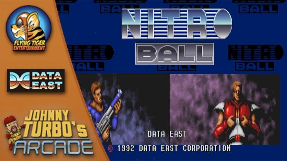 Nitro Ball es el próximo arcade de Data East que llegará a Nintendo Switch